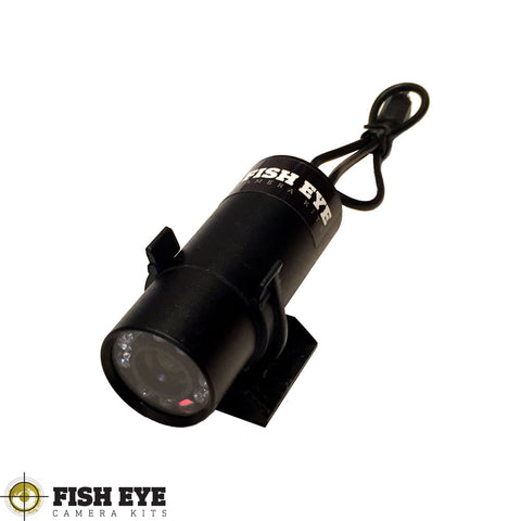 Fish Eye Camera Kits Custom Cable Length Waterproof Camera With Night Vision