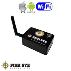 Fish EyE Camera Kits Android / Apple WiFi Boat Underwater Camera Kit