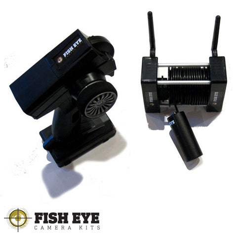 Fish EyE Camera Kits Dual Camera Winch Unit