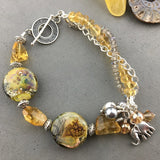 DRAGON GLASS JEWELS ~ TREASURE BRACELET