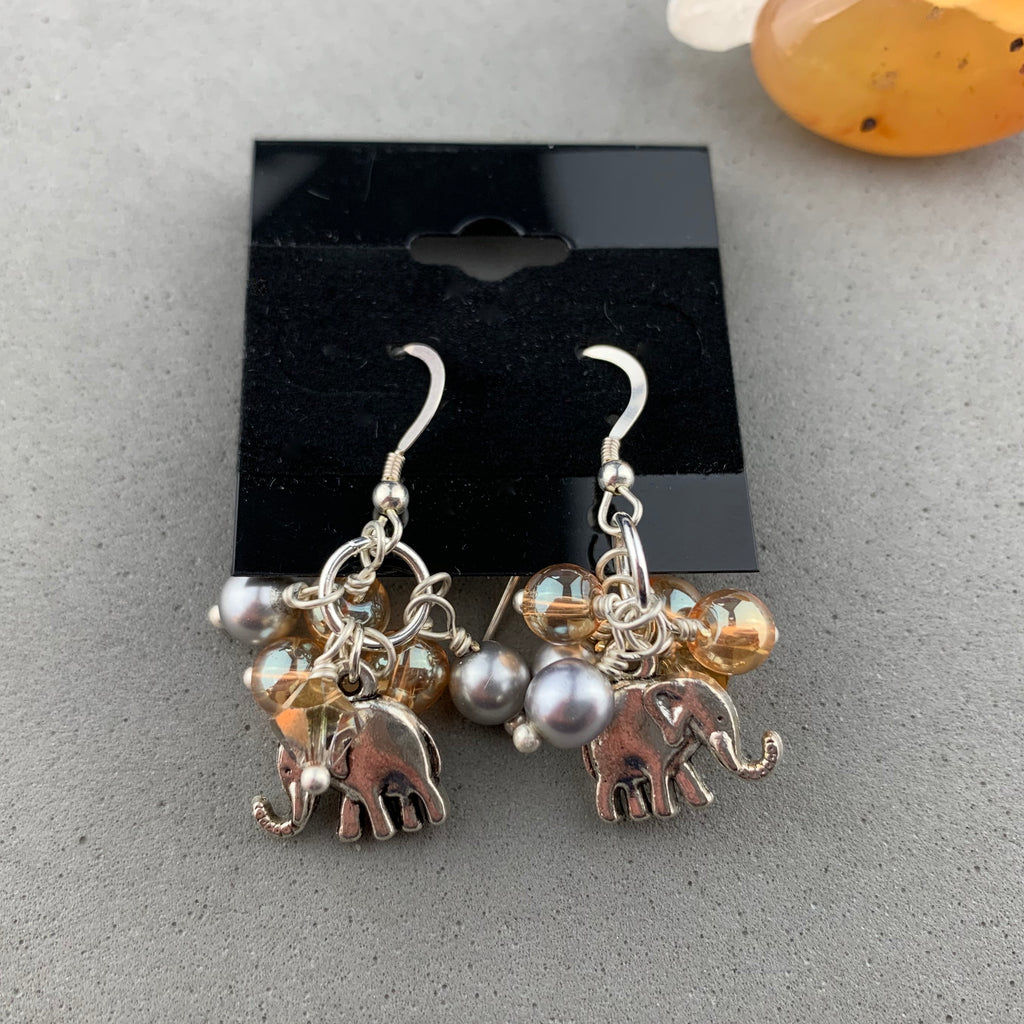 DRAGON GLASS JEWELS TREASURE EARRINGS