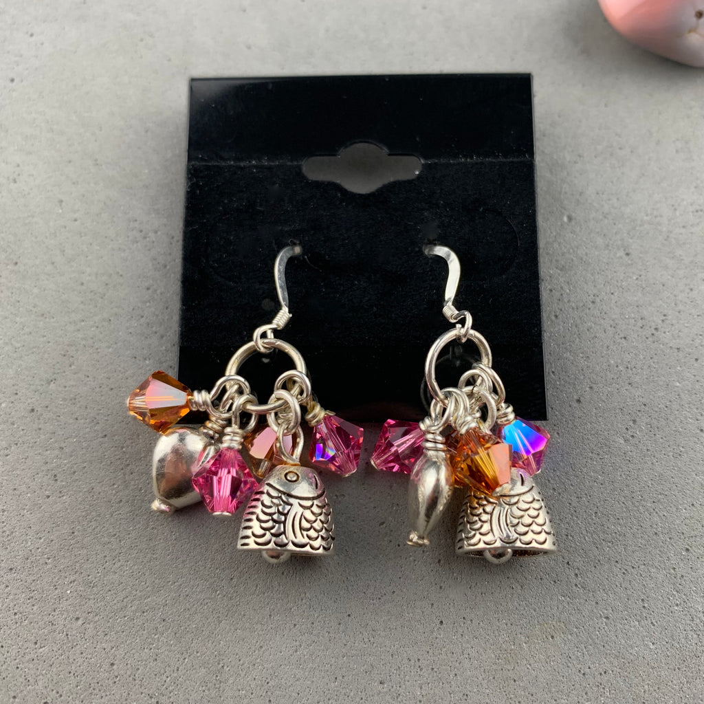 FIRE AND ICE TREASURE EARRINGS