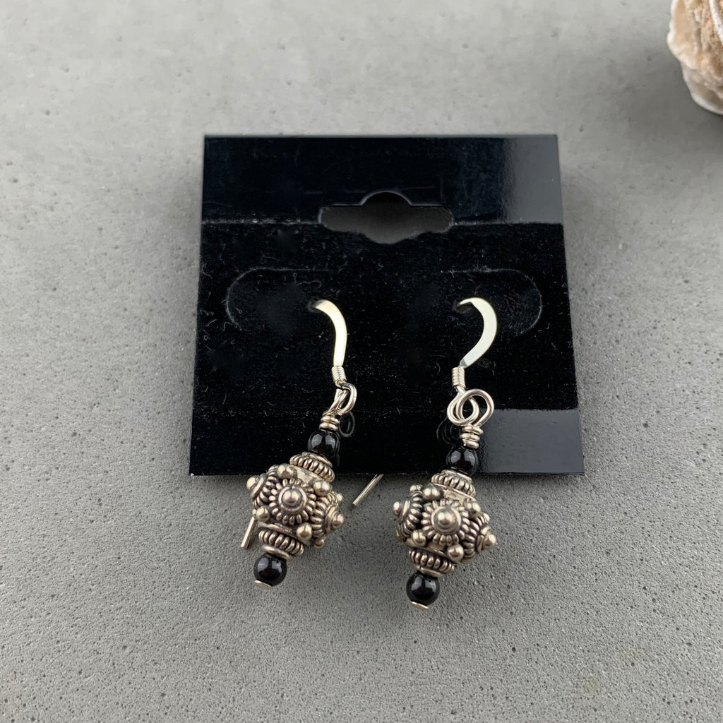 TIBETAN SILVER EARRINGS