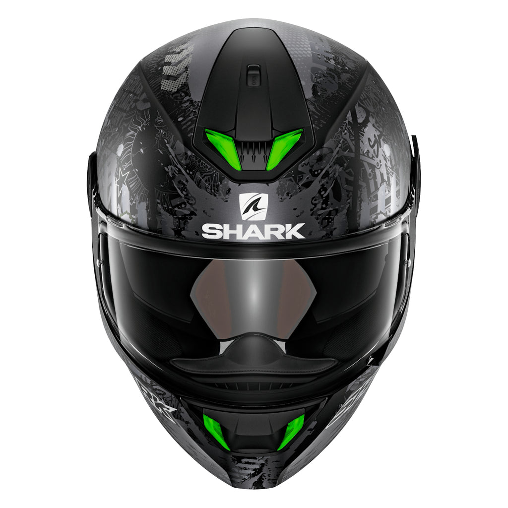 Light it up with the new SHARK Helmets SKWAL 2!