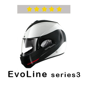 SHARK Helmets EvoLine series3 Five Stars at SHARP Tests