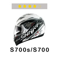 SHARK Helmets S700 Four Stars at SHARP Tests