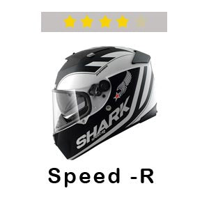 SHARK Helmets Speed-R Four Stars at SHARP Tests