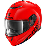 SHARK Helmets SPARTAN 1.2 Blank - RED - Front Left