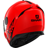 SHARK Helmets SPARTAN 1.2 Blank - RED - Back Left