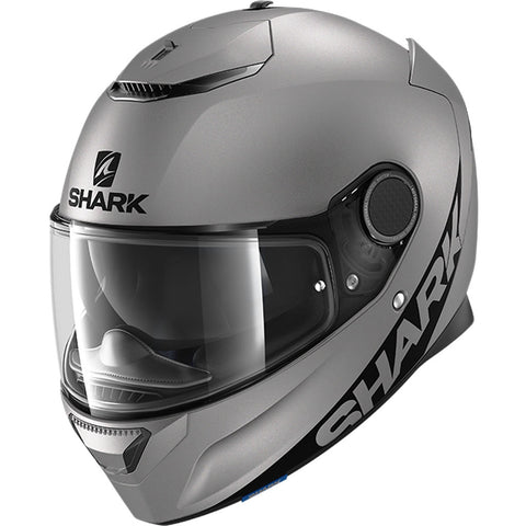 SHARK Helmets SPARTAN 1.2 - MATTE DARK GREY - Front Left