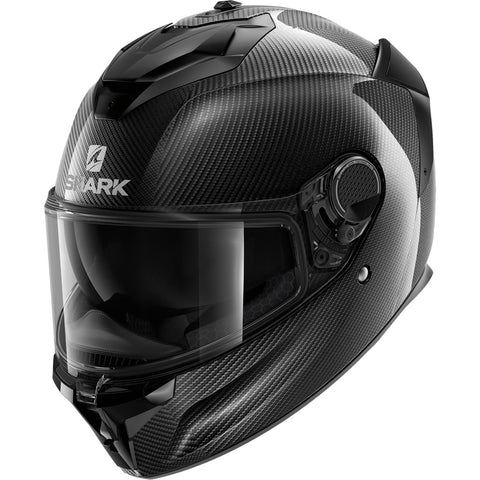 SHARK Helmets SPARTAN GT CARBON Skin - CARBON / DARK GREY - Front Left