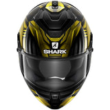 SHARK Helmets SPARTAN GT Replikan - BLACK / CHROME / GOLD - Back