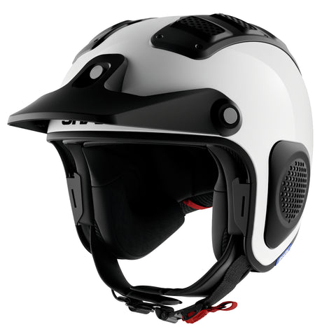 SHARK Helmets ATV-DRAK Blank - WHITE - Front Left