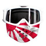 SHARK Google & Mask for DRAK Helmet - JAPANESE FLAG