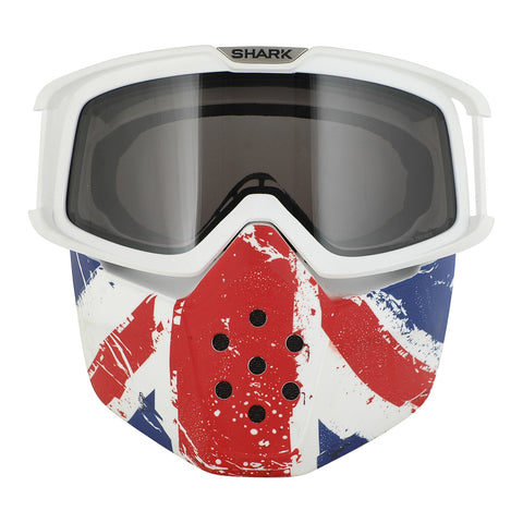 SHARK Google & Mask for DRAKE Helmet - UNION JACK