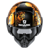 SHARK Helmets DRAK Sanctus - CHROME ORANGE / BLACK