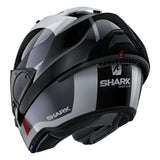SHARK Helmets EVO-ONE 2 Endless - WHITE / BLACK / RED - Back Left Open