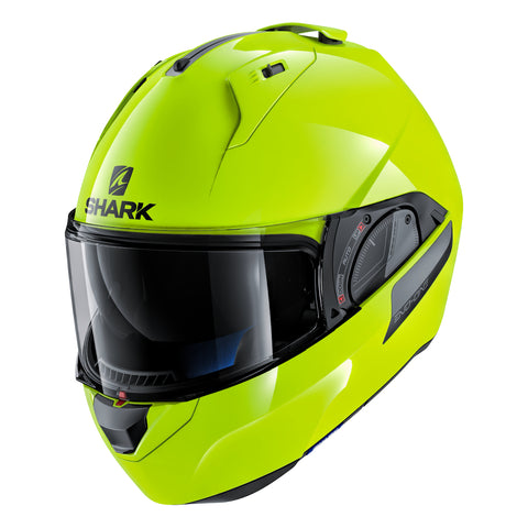 SHARK Helmets EVO-ONE 2 Hi-Visibility - Neon yellow - Closed