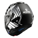 SHARK Helmets EVO-ONE 2 Lithion Dual - Black / Chrome - Closed