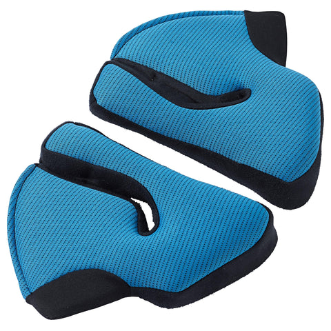 SHARK Helmets Original Cheek Pads for EVO-ONE 2 Helmets - BLUE