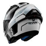 SHARK Helmets EVO-ONE 2 Slasher - White / Black / Silver - Open