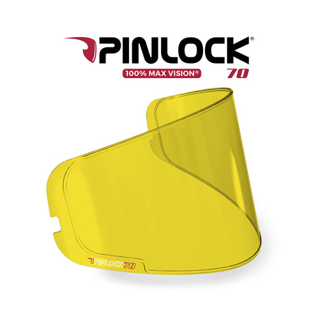 PINLOCK® Insert lenses for SHARK Helmets - YELLOW