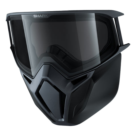 SHARK Helmets 100% Original Premium Goggles + Mask - DARK GREY