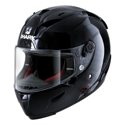 SHARK Helmets RACE-R PRO Blank - BLACK - Front Left