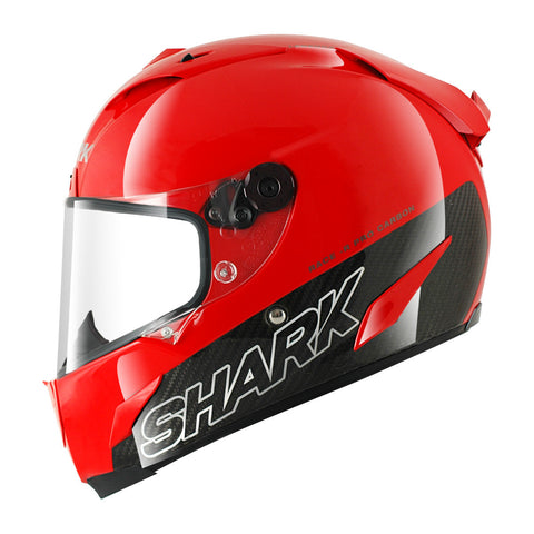 SHARK Helmets RACE-R PRO CARBON Blank Red