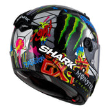 SHARK Helmets RACE-R PRO CARBON  Lorenzo Catalunya GP - Back Right