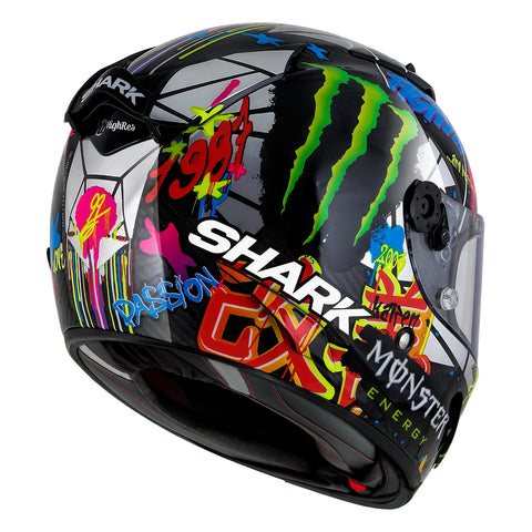 d38abc17bb8a4 SHARK Helmets RACE-R PRO CARBON Lorenzo Catalunya GP - Back Right