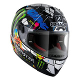 SHARK Helmets RACE-R PRO CARBON  Lorenzo Catalunya GP- Front Right