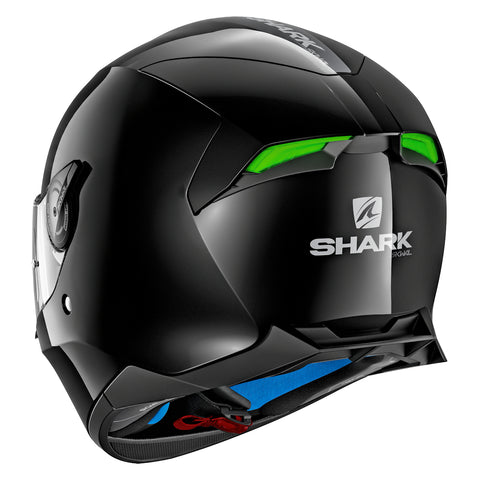 SHARK Helmets SKWAL 2 Blank - BLACK - Back Left