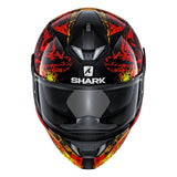 SHARK Helmets SKWAL 2 Nuk'Hem - BLACK / RED / ORANGE - Front