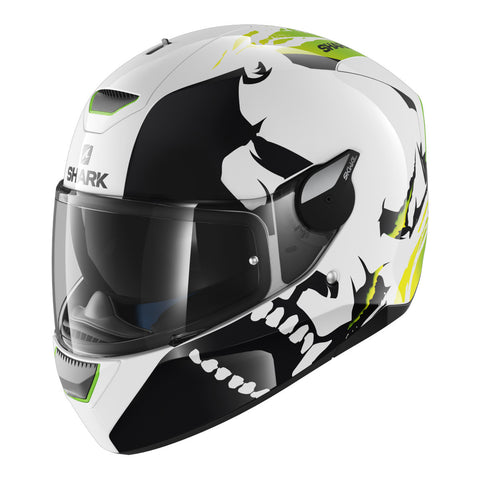 SHARK Helmets SKWAL Instinct Green / White / Black