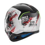 SHARK Helmets SKWAL Switch Riders White / Black / Red