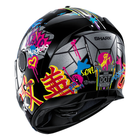 SHARK Helmets SPARTAN Lorenzo Catalunya GP - Back Left