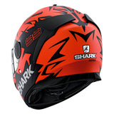 SHARK Helmets SPARTAN Zarco Matte Austrian GP - RED / BLACK - Back Left