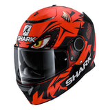 SHARK Helmets SPARTAN Zarco Matte Austrian GP - RED / BLACK - Front Left