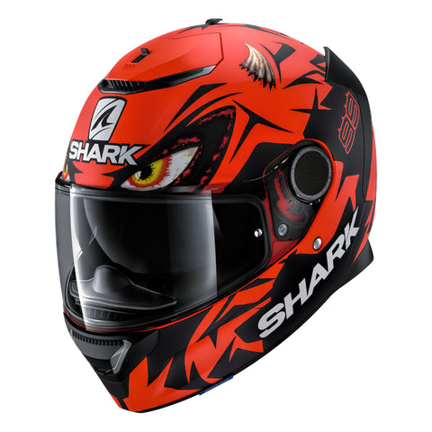 SHARK Helmets SPARTAN 1.2 Zarco Matte Austrian GP - RED / BLACK - Front Left
