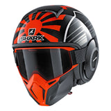 SHARK Helmets STREET-DRAK Zarco Malaysian GP - BLACK / RED / GREY - Front Left