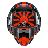 SHARK Helmets STREET-DRAK Zarco Malaysian GP - BLACK / RED / GREY - Front