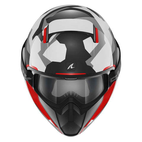 SHARK Helmets VANCORE Wipeout - Black / Red / White