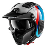SHARK Helmets X-DRAK Terrence - WHITE / BLUE / RED - Front Left