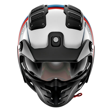SHARK Helmets X-DRAK Terrence - WHITE / BLUE / RED - Front