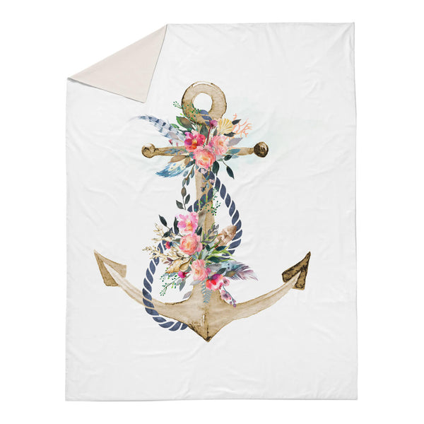 Boho Anchor Duvet Cover