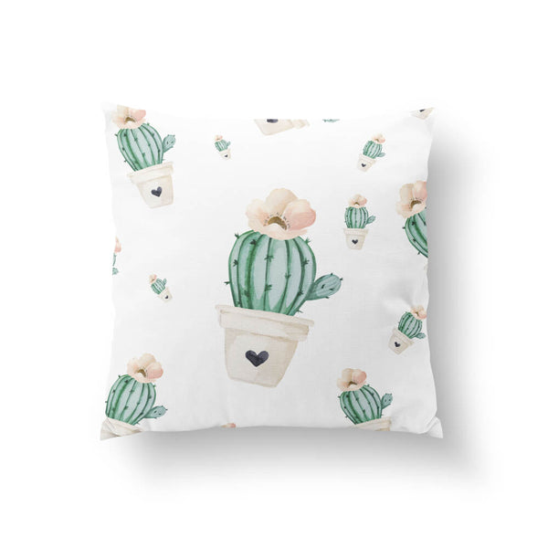 Brand New Day Cactus Throw Pillow