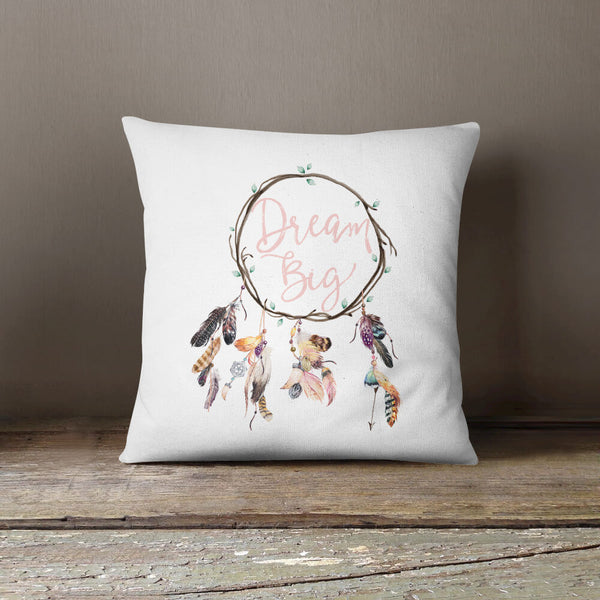 Wild & Free Dream Catcher Throw Pillow