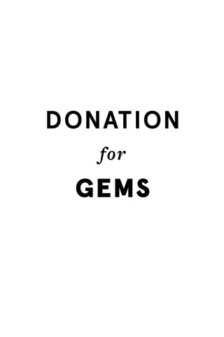 Donation for GEMS
