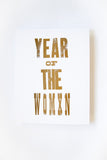 Year of the Womxn Letterpress Print